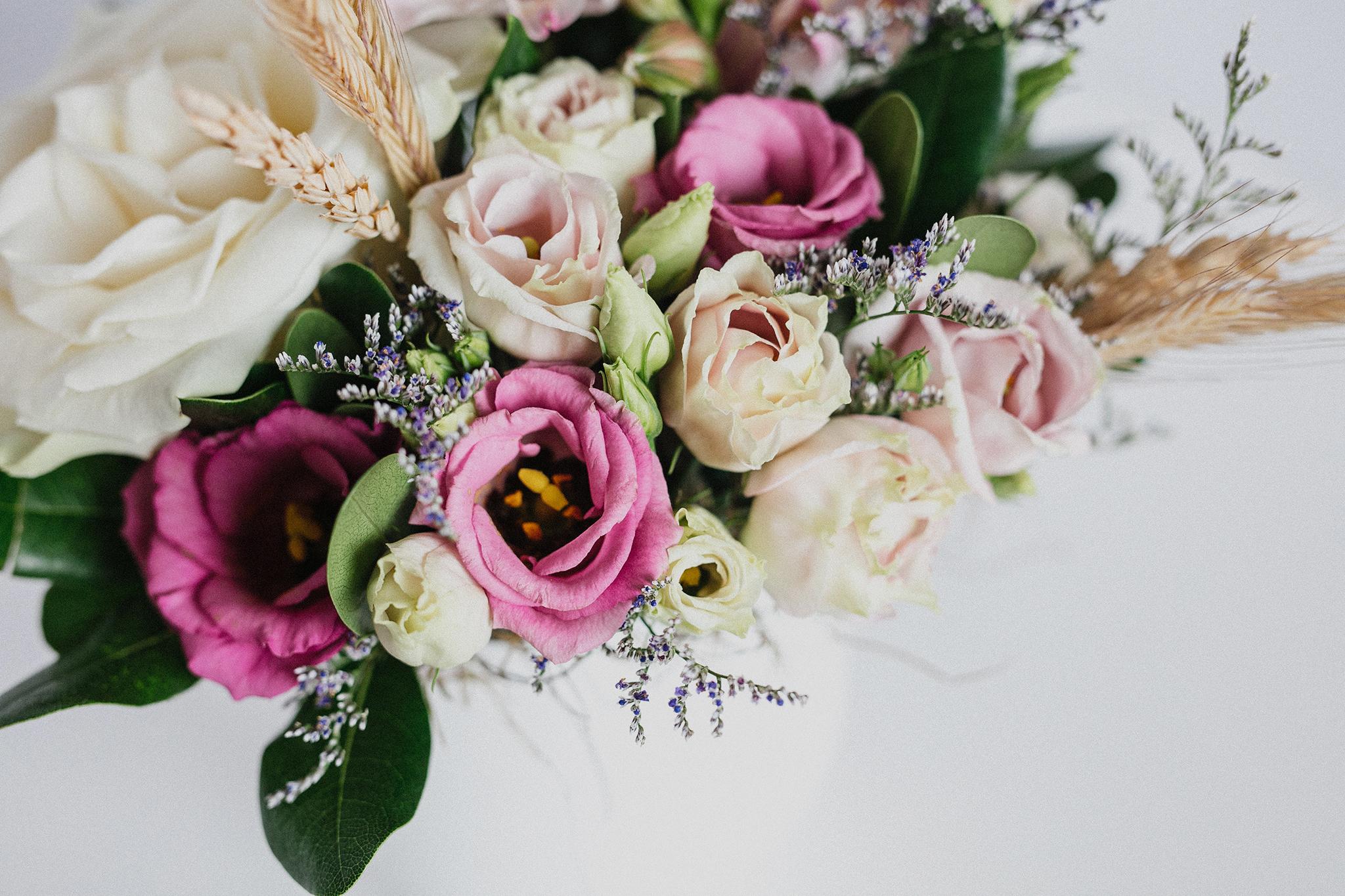 Des fleurs pour une naissance