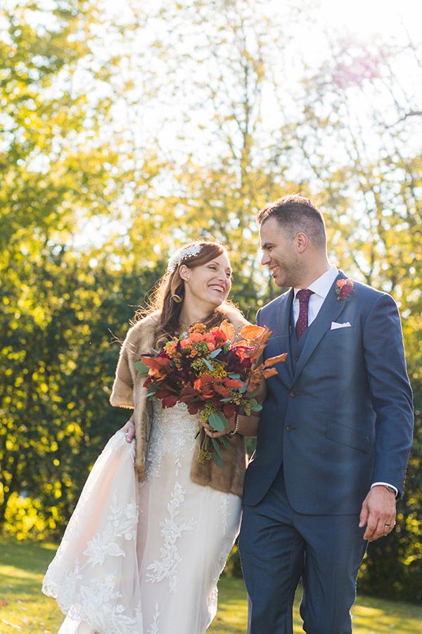 Bouquet mariage automne