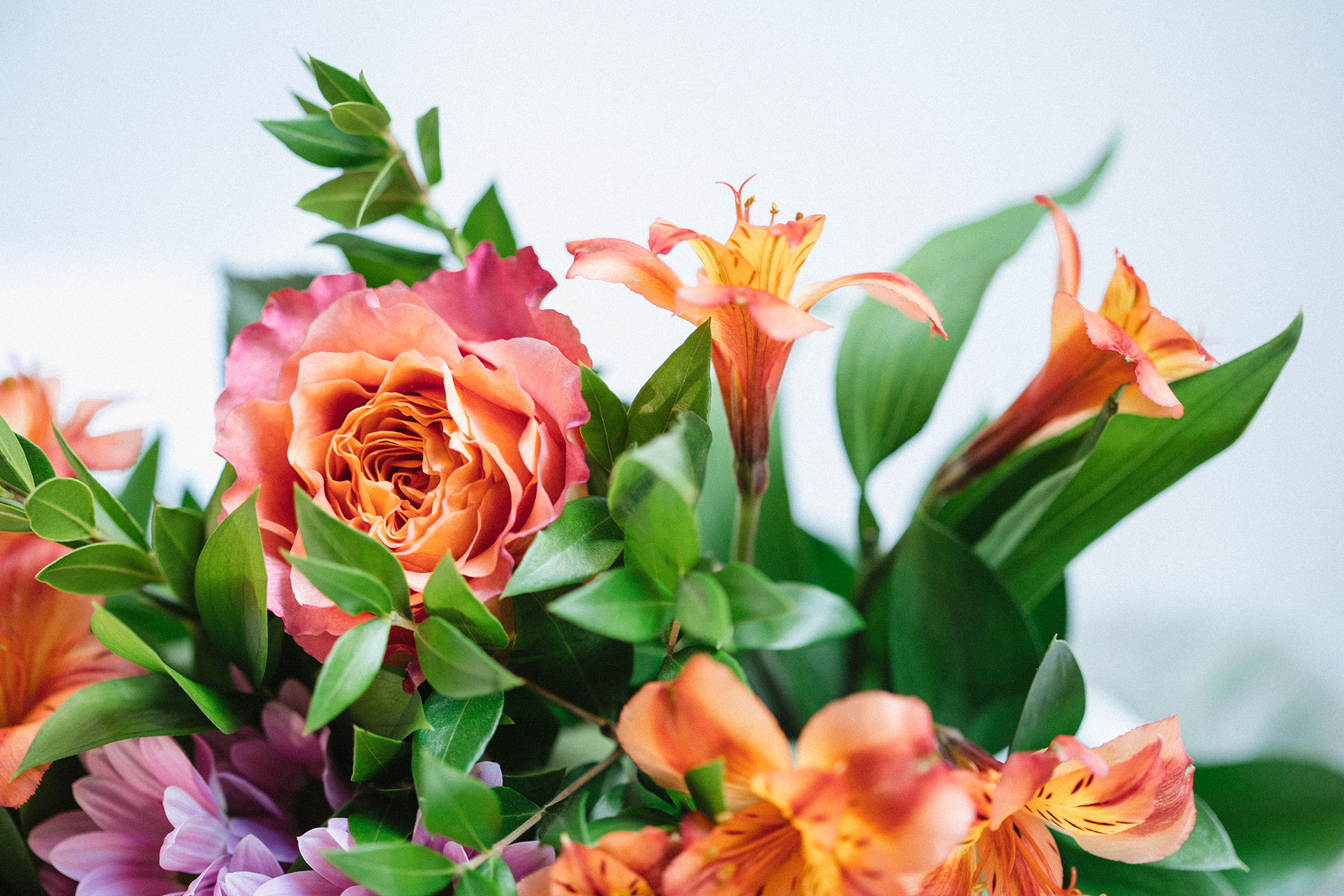 Bouquet de fleurs pour un anniversaire !