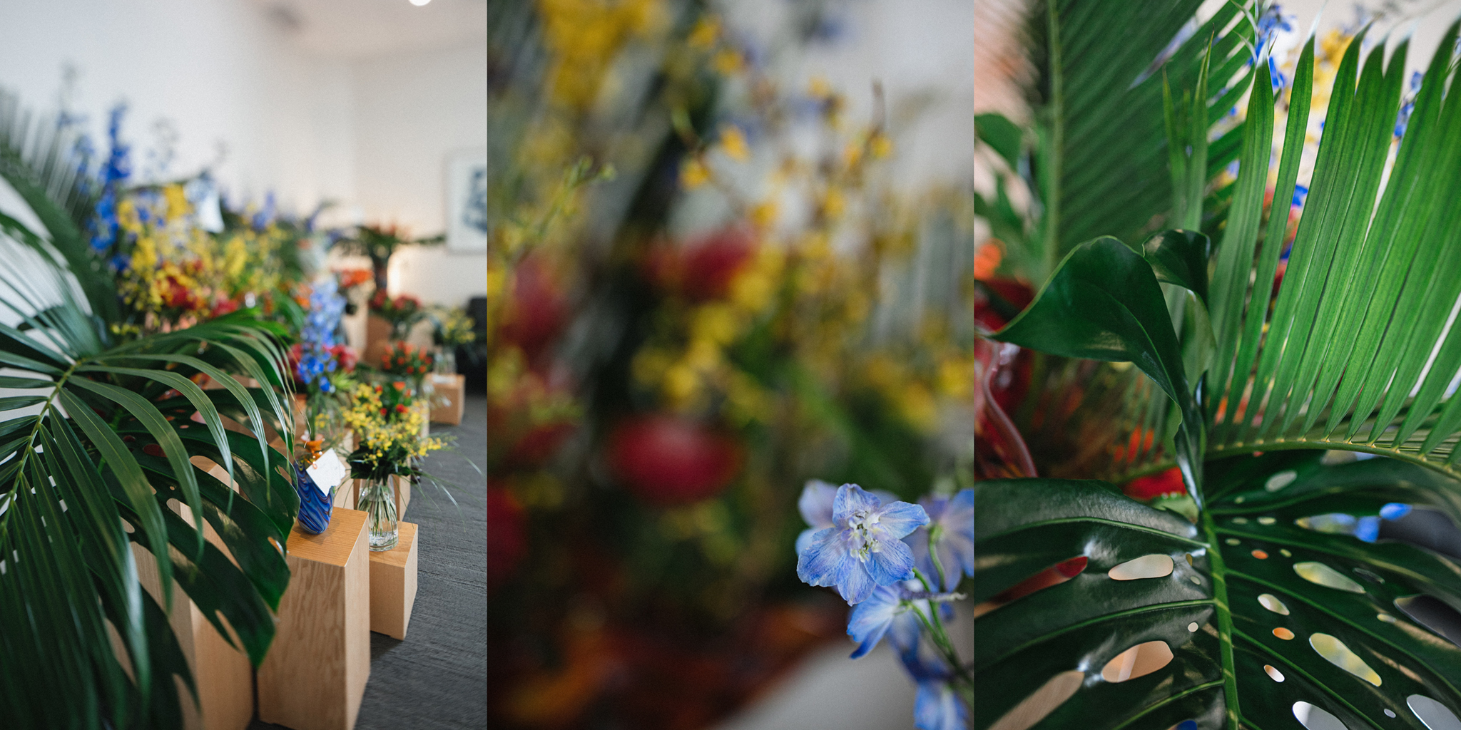 Arrangement floral dernier hommage